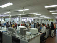 Tour at GEA-NUS Laboratory by Conference Participants_